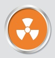 Radioactivity symbol vector image