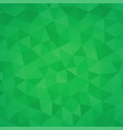 green triangle abstract background vector image