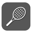 The tennis icon Game symbol Flat vector image