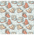 Childrens boots vector image