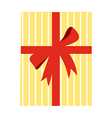 The gift boxes vector image vector image