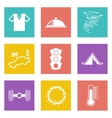 Color icons for Web Design set 43 vector image vector image
