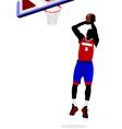 al 1011 basketball 05 vector image vector image