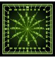 navigation grid vector image