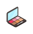 Blusher icon isometric 3d style vector image