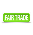 fair trade vector image