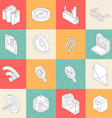 Modern Flat Icons 3 vector image