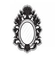 Vintage Imperial Baroque frame vector image