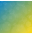 Summer background blurry reflections vector image