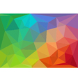 colorful geometric background vector image