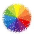 color wheel vector image vector image