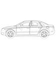 auto sketch vector image