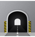 Road tunnel vector image vector image