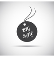 Simple big sale label icon vector image vector image