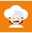 Chef Expression Face vector image