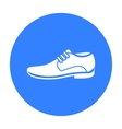 Men Shoes icon of for web and vector image