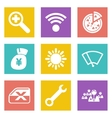Icons for Web Design set 46 vector image