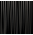 silk curtains vector image