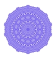 Circle Lace Ornament Round Geometric Pattern vector image