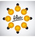 great idea design vector image