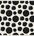seamless pattern with grunge circles vector image
