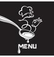 spoon image vector image