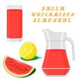 the theme lemonade vector image