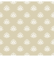 Vintage pattern seamless background vector image