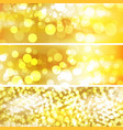 The template for Beautiful gold background vector image