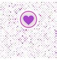 Valentine polka dots EPS 8 vector image vector image