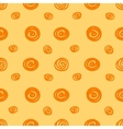 Seamless background with the abstract circles vector image