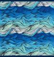 sea big pattern gradient vector image