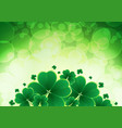 happy saint patricks day background with vector image
