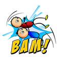 Bam logo vector image