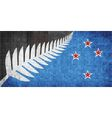New flag of New Zealand vector image