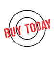 Buy today rubber stamp vector image