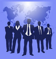 color business people vector image