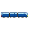 train transport isolated vector image