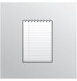Notebook smartphone UI vector image vector image