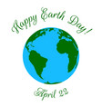 mother earth day vector image