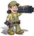 Handyman Plumber Khaki vector image