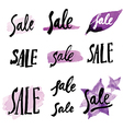 Calligraphy sale 1 vector image