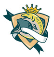 king salmon vector image