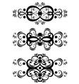 Decorative Floral Ornament9 vector image vector image