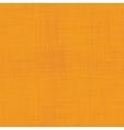 Orange linen seamless texture vector image