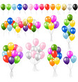 balloon set vector image