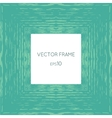 frame with a texture of water vector image