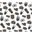 Photography gear seamless pattern vector image