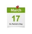 StPaticks Day vector image