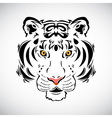 Tiger tattoo stylish ornate vector image